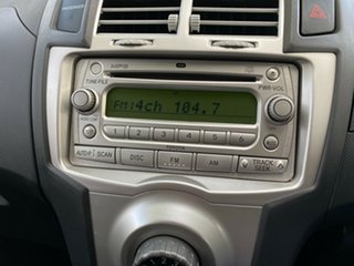 2005 Toyota Yaris NCP90R YR White 4 Speed Automatic Hatchback