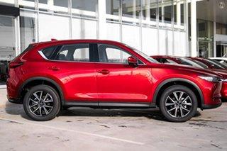 2021 Mazda CX-5 KF4WLA GT SKYACTIV-Drive i-ACTIV AWD Red 6 Speed Sports Automatic Wagon