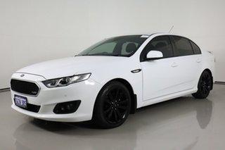 2016 Ford Falcon FG X XR6 White 6 Speed Auto Seq Sportshift Sedan.