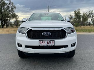 2020 Ford Ranger PX MkIII 2021.25MY XLT Arctic White 6 Speed Sports Automatic Double Cab Pick Up.
