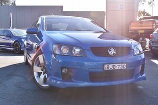 2008 Holden Commodore VE SS Blue 6 Speed Manual Sedan.