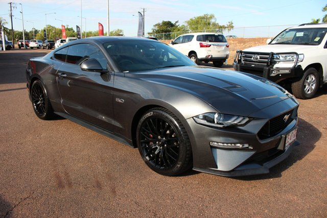 Pre-Owned Ford Mustang FN 2019MY GT Darwin, 2018 Ford Mustang FN 2019MY GT Grey 10 Speed 10 SP AUTOMATIC Coupe