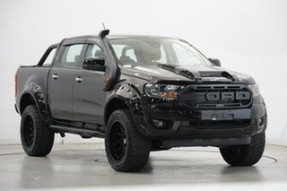 2020 Ford Ranger PX MkIII 2020.25MY XLS Black 6 Speed Sports Automatic Double Cab Pick Up