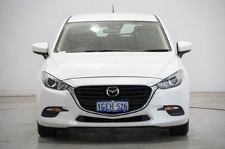 2016 Mazda 3 BM5478 Neo SKYACTIV-Drive White 6 Speed Sports Automatic Hatchback.