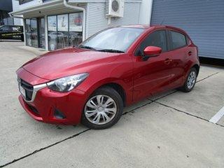 2018 Mazda 2 DJ2HAA Neo SKYACTIV-Drive Red 6 Speed Sports Automatic Hatchback.