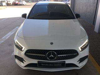 2019 Mercedes-Benz A-Class W177 A250 DCT 4MATIC AMG Line White 7 Speed Sports Automatic Dual Clutch