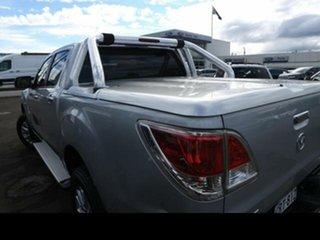 2013 Mazda BT-50 GT (4x4) Silver 6 Speed Automatic Dual Cab Utility.