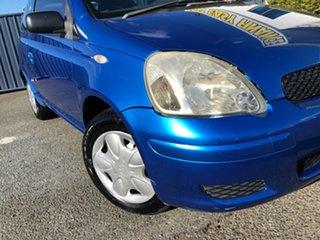 2005 Toyota Echo NCP10R MY03 Blue Metallic 5 Speed Manual Hatchback.