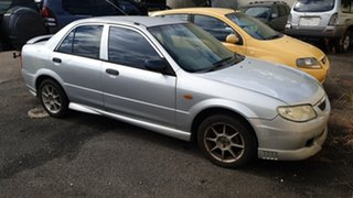 2001 Mazda 323 Silver Sedan