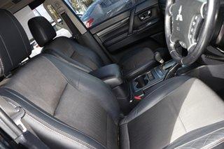 2010 Mitsubishi Pajero NT MY10 VR-X Black 5 Speed Sports Automatic Wagon