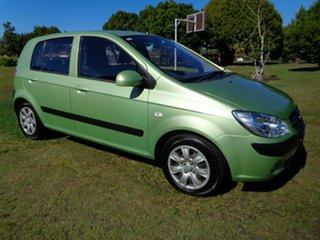 2010 Hyundai Getz TB MY09 S Green 5 Speed Manual Hatchback.