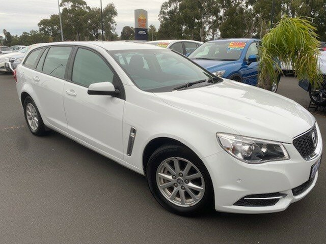 Used Holden Commodore VF II MY16 Evoke Sportwagon Bunbury, 2016 Holden Commodore VF II MY16 Evoke Sportwagon White 6 Speed Sports Automatic Wagon