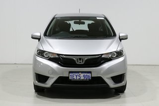 2016 Honda Jazz GK MY16 VTi Silver 5 Speed Manual Hatchback.