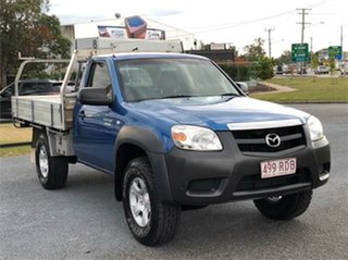 2010 Mazda BT-50 UNY0E4 DX Blue 5 Speed Manual Cab Chassis.