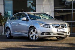 2011 Holden Cruze JG CDX Silver, Chrome 6 Speed Sports Automatic Sedan.
