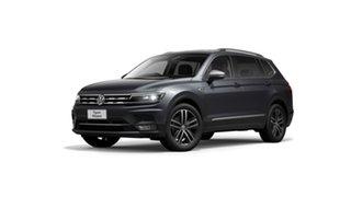2021 Volkswagen Tiguan 5N MY21 140TDI Highline DSG 4MOTION Allspace Platinum Grey 7 Speed.