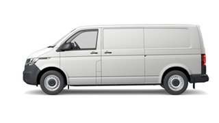 2021 Volkswagen Transporter T6.1 LWB Van Candy White 7 Speed Semi Auto Van.