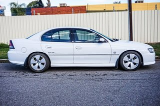 2005 Holden Calais VZ White 4 Speed Automatic Sedan.