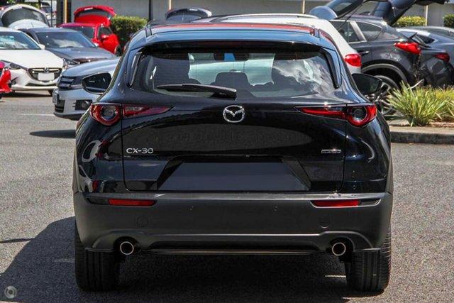 New Mazda CX-30 DM2W7A G20 SKYACTIV-Drive Evolve Waitara, 2021 Mazda CX-30 DM2W7A G20 SKYACTIV-Drive Evolve Black 6 Speed Sports Automatic Wagon