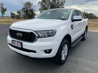 2020 Ford Ranger PX MkIII 2021.25MY XLT Arctic White 6 Speed Sports Automatic Double Cab Pick Up