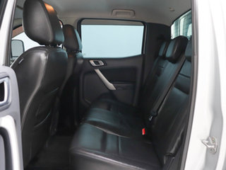2012 Ford Ranger PX XLT 3.2 (4x4) Silver, Chrome 6 Speed Automatic Double Cab Pick Up