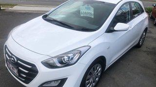 2015 Hyundai i30 GD3 Series II MY16 Active Ceramic White 6 Speed Sports Automatic Hatchback.
