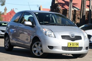 2005 Toyota Yaris NCP91R YRS Quicksilver 4 Speed Automatic Hatchback.