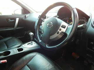 2011 Nissan Dualis J10 Series II MY2010 Ti Hatch X-tronic Black 6 Speed Constant Variable Hatchback