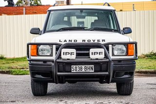 1999 Land Rover Discovery II Td5 White 5 Speed Manual Wagon