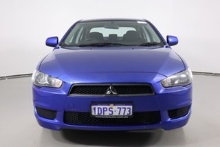2011 Mitsubishi Lancer CJ MY11 SX Blue 6 Speed CVT Auto Sequential Sedan.