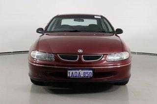 1999 Holden Commodore VTII Olympic Edition Maroon 4 Speed Automatic Sedan.
