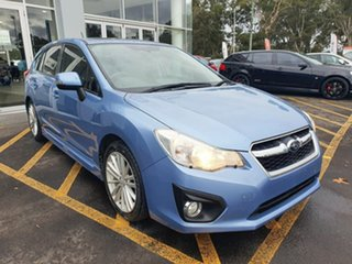 2012 Subaru Impreza G4 MY12 2.0i-S Lineartronic AWD Blue 6 Speed Constant Variable Hatchback.