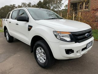 2015 Ford Ranger PX XL Hi-Rider White Sports Automatic Utility.