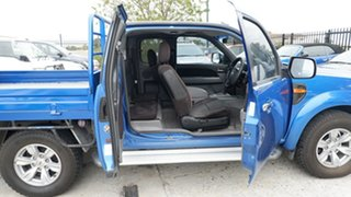 2009 Ford Ranger PK XLT Super Cab Blue 5 Speed Automatic Utility