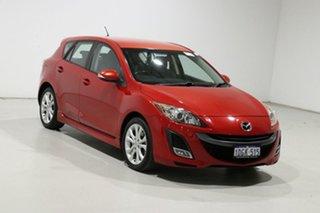 2009 Mazda 3 BL SP25 Red 6 Speed Manual Hatchback