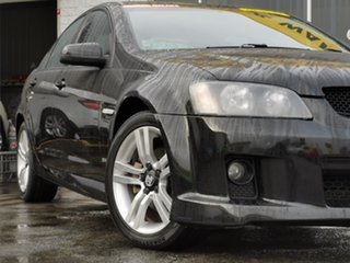 2009 Holden Commodore VE MY10 SV6 Black 6 Speed Sports Automatic Sedan.