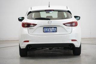 2016 Mazda 3 BM5478 Neo SKYACTIV-Drive White 6 Speed Sports Automatic Hatchback