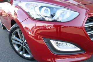 2016 Hyundai i30 GD4 Series II MY17 SR Red 6 Speed Sports Automatic Hatchback.