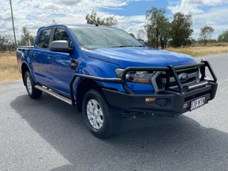 2017 Ford Ranger PX MkII XLS Double Cab Winning Blue 6 Speed Sports Automatic Utility.