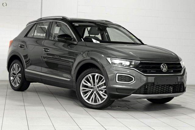 Demo Volkswagen T-ROC A1 MY21 110TSI Style Berwick, 2021 Volkswagen T-ROC A1 MY21 110TSI Style Grey 8 Speed Sports Automatic Wagon