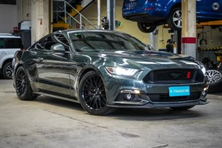 2016 Ford Mustang FM GT Fastback Green 6 Speed Manual Fastback.