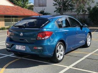 2012 Holden Cruze JH Series II MY13 Equipe Blue 5 Speed Manual Hatchback.