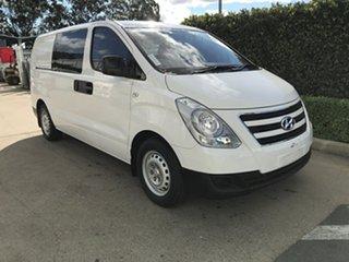 2017 Hyundai iLOAD TQ3-V Series II MY18 Crew Cab Creamy White 5 speed Automatic Van.