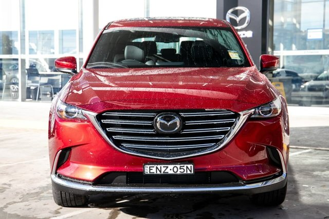 Demo Mazda CX-9 TC GT SKYACTIV-Drive Kirrawee, 2021 Mazda CX-9 TC GT SKYACTIV-Drive Soul Red Crystal 6 Speed Sports Automatic Wagon