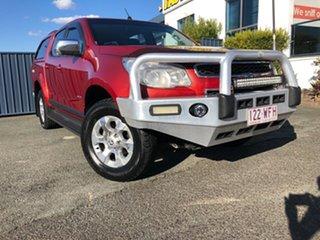 2012 Holden Colorado RG MY13 LTZ Crew Cab Red 5 Speed Manual Utility.