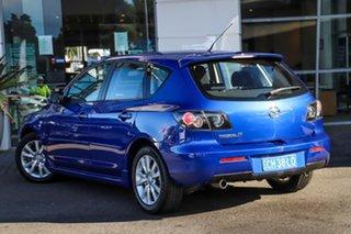 2007 Mazda 3 BK10F2 Maxx Sport Blue 5 Speed Manual Hatchback.