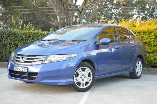Used Honda City GM MY09 VTi Maitland, 2009 Honda City GM MY09 VTi Blue 5 Speed Automatic Sedan