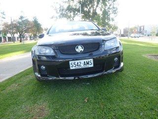 2008 Holden Ute VE SS V Black Manual Utility.