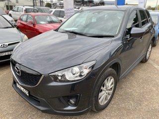 2013 Mazda CX-5 KE1021 MY13 Maxx SKYACTIV-Drive AWD Sport Grey 6 Speed Sports Automatic Wagon.