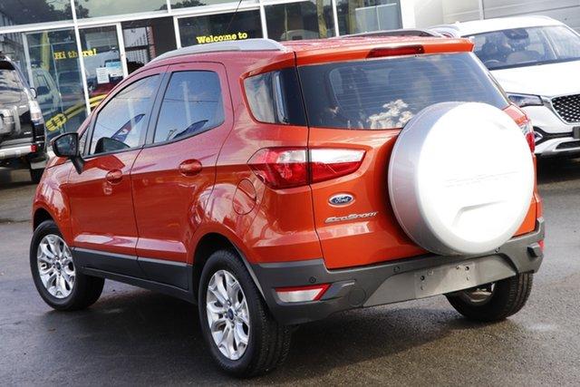 Used Ford Ecosport BK Titanium Toowoomba, 2013 Ford Ecosport BK Titanium Orange 5 Speed Manual Wagon